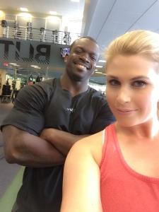My phenomenal personal trainer at Equinox Sports Club, Shaka, aka